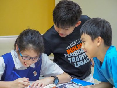 PSLE holiday programme for creative writing