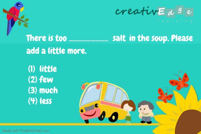 Primary 2 english example 1