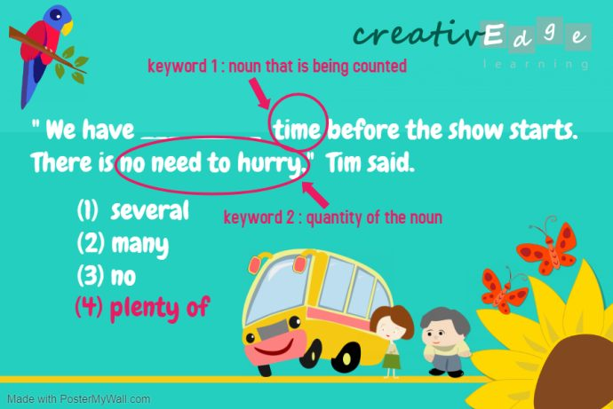 Primary 2 English grammar quantifiers answer 2