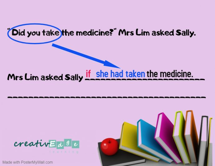 PSLE synthesis and transformation reported question 1