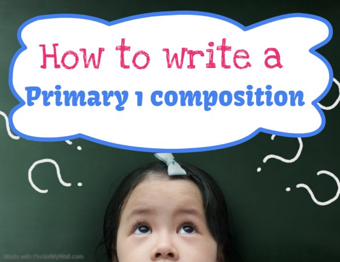 Primary 1 composition cover photo