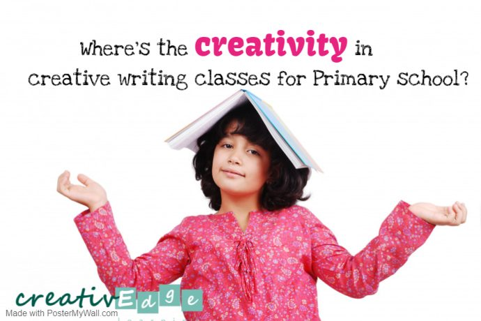 Where's the creativity in creative writing classes for Primary school?