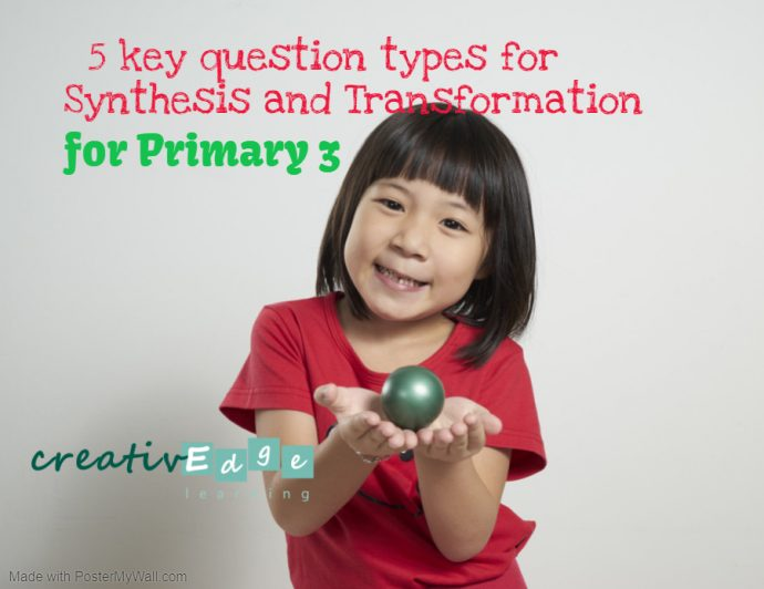 Primary 3 synthesis and transformation cover poster