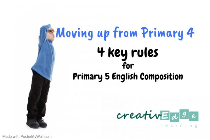 4 key rules for Primary 5 English composition