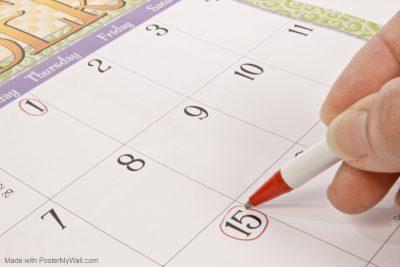 Class schedule image